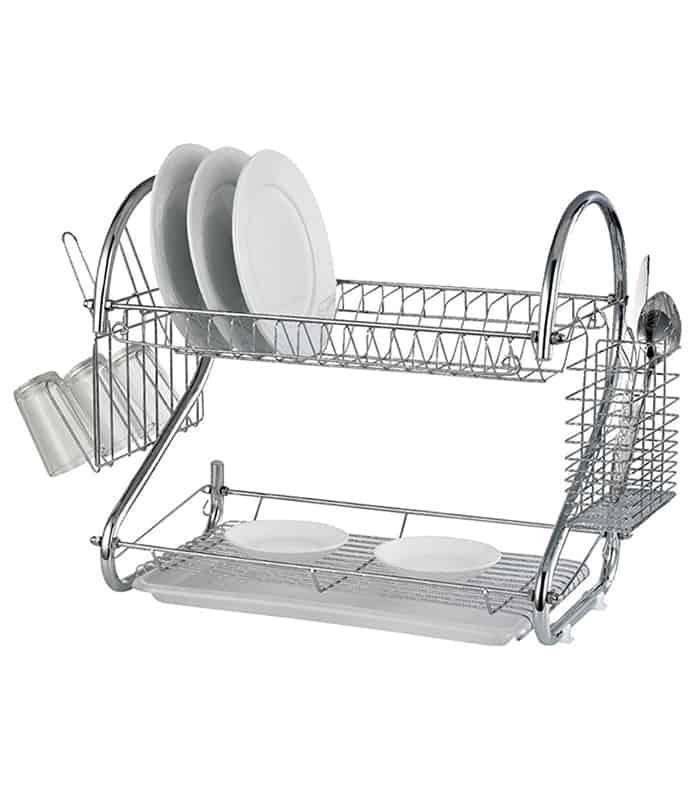 Dish Rack.2 Layer Dish Drainer Rack