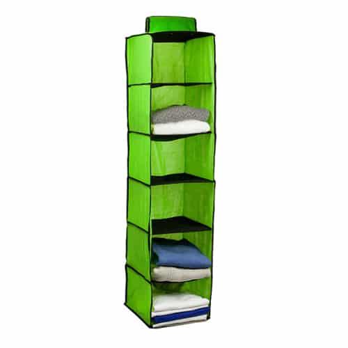 Hanging Closet Organizer 6 Shelves 02135 Supersavings
