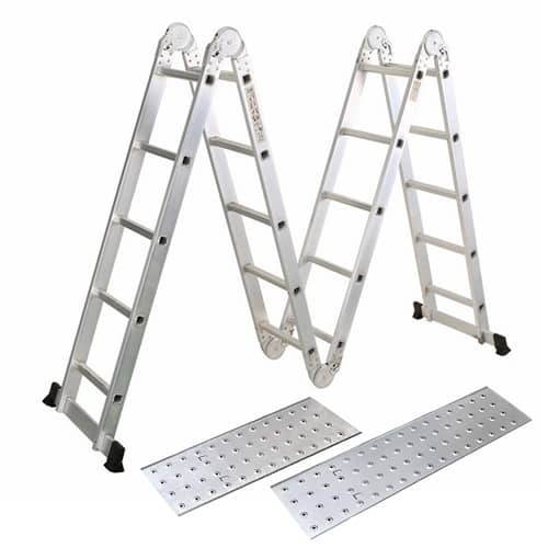 Multipurpose Aluminium Ladder 5 x 4