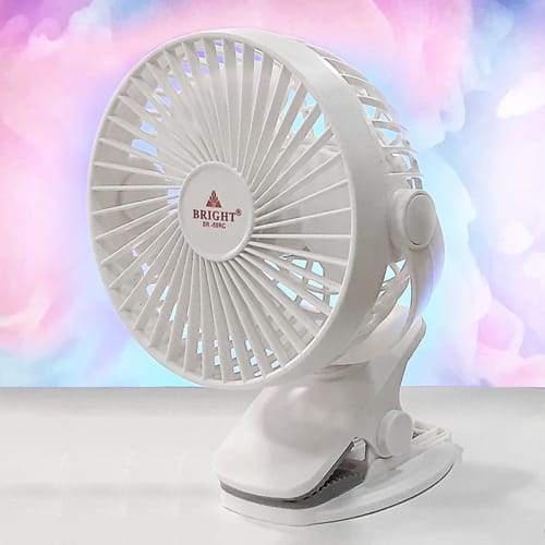 Bright Rechargeable Mini Fan BR-59RC - Supersavings